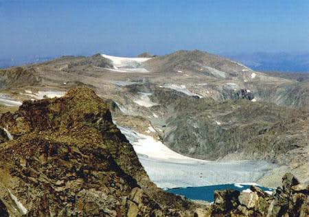 Continental Glacier near the...