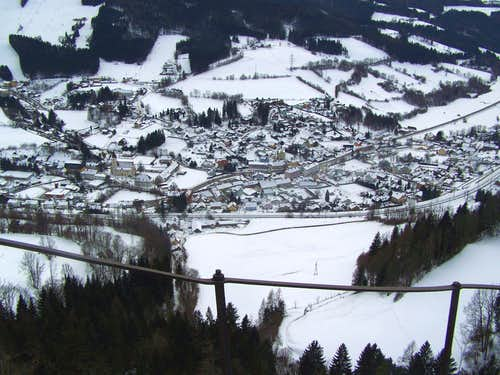 The view of Spital am Semmering
