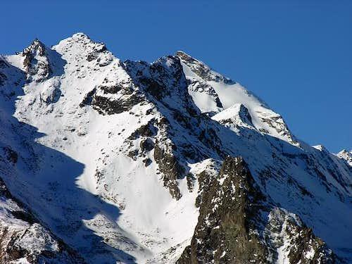 La torre del Tighet (2976 m.)...
