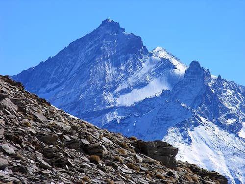 La Grivola (3969 m.) versante...