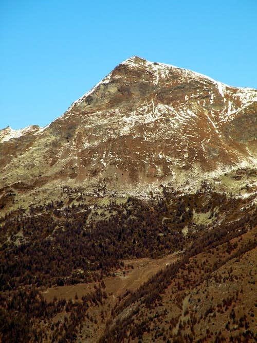 Little ... Becca de Viou <i>(2856m)</i> above Viou Alps 2015