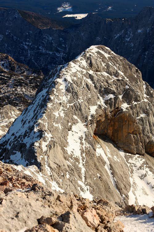 Mali Triglav ridge