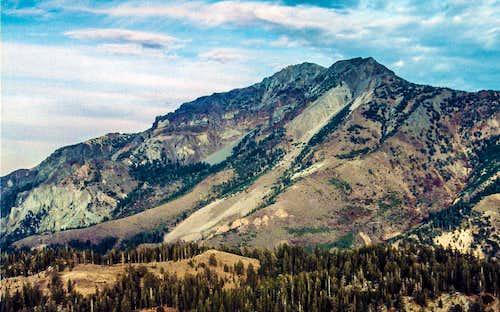 Silver Peak Ebbetts Pass area