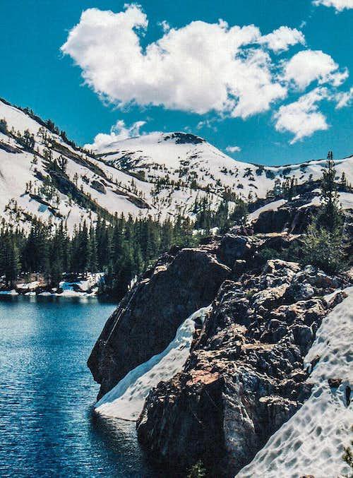Gaylor Peak from Ellery Lake