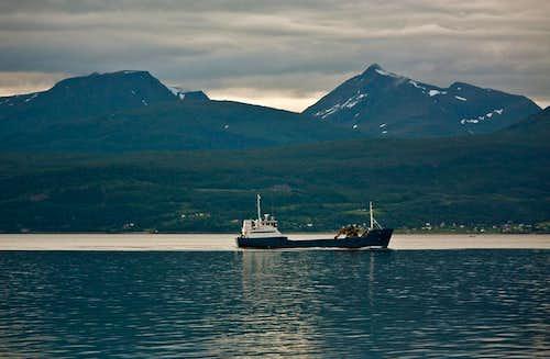 Ofotfjorden in Narvik