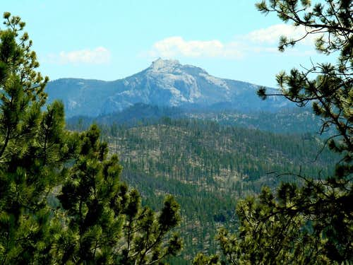 Black Elk Peak from Copper Mountain