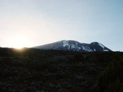 Sunrise at Shira Camp - 19th...