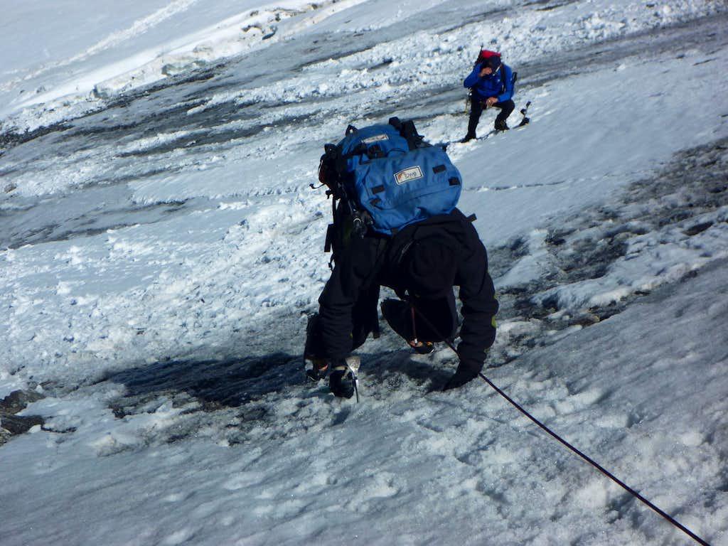 Monte Zebru Normal Route