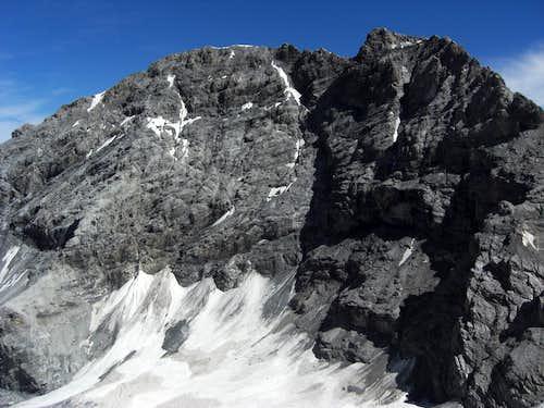 Normal route (Monte Zebrù)