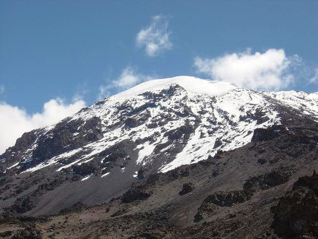 Kibo from Barafu Camp (4600m)...