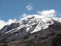 Kibo from Barafu Camp (4600m)...