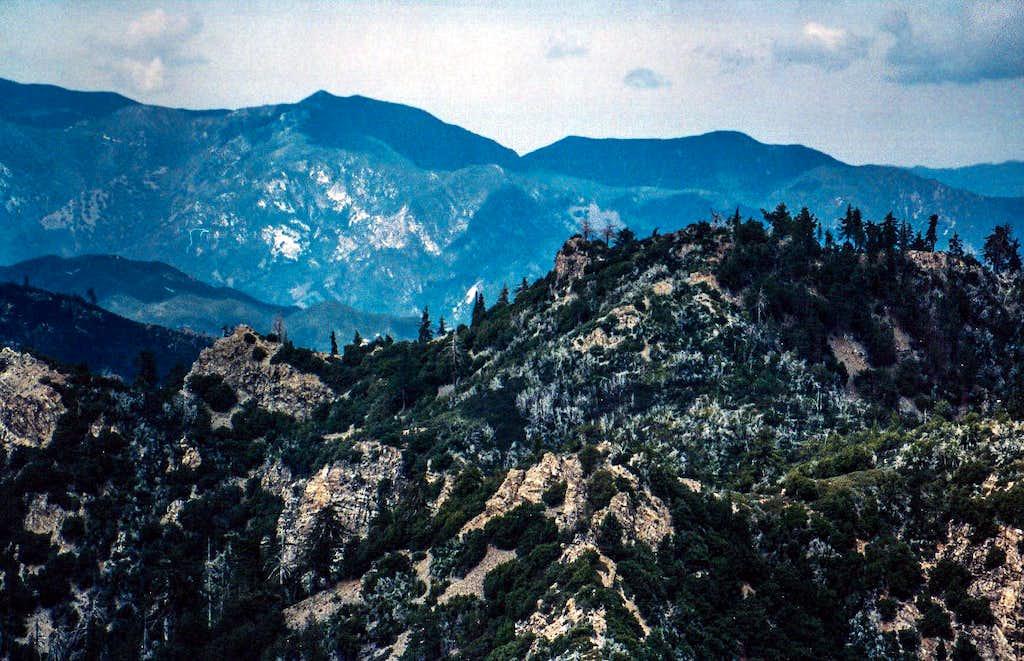Santa Lucia Mountains Photos Diagrams Amp Topos Summitpost