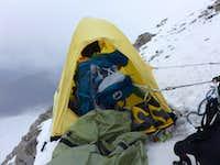 Kurumdy first traverse High Camp