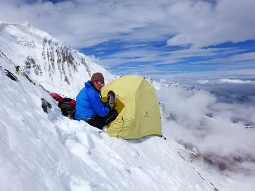 Kurumdy first traverse High Camp