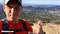 Cris Hazzard on Echo Mountain