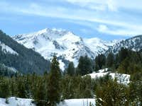 Saviers Peak from the Owl...