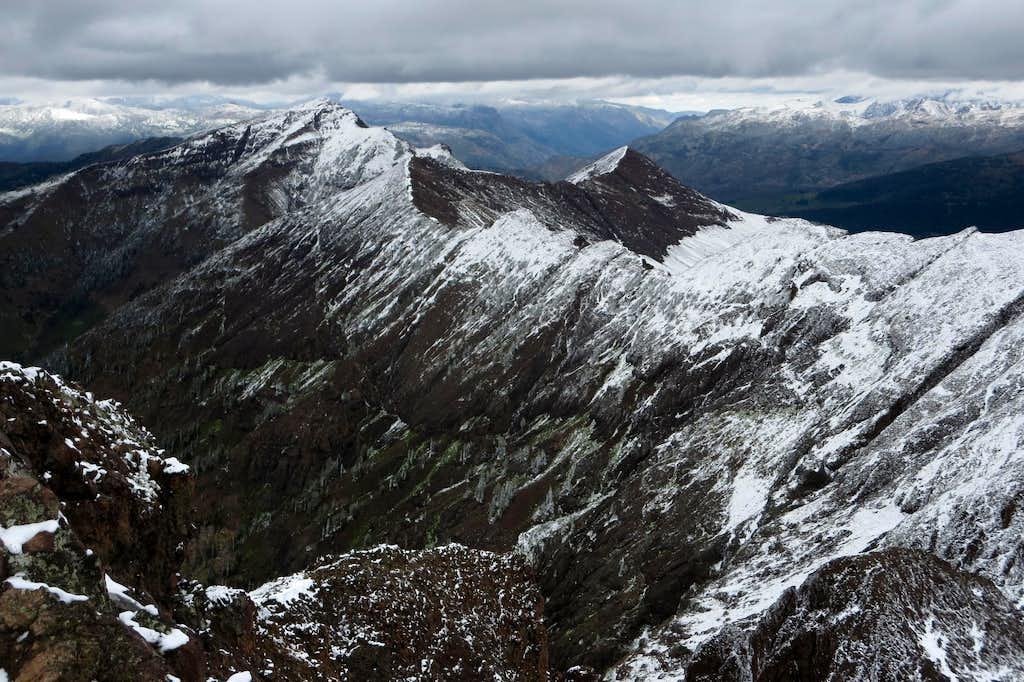 Wolverine Peak and Sunset Peak