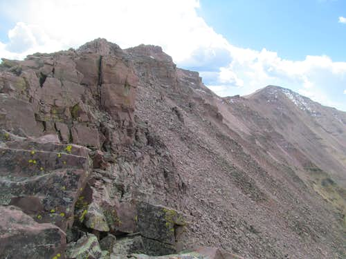 final ridge to Kings
