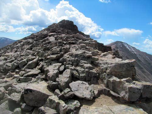 the top of utah