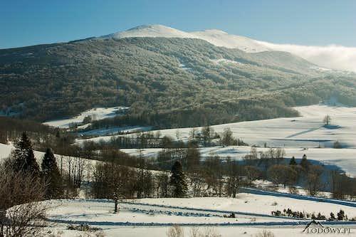 Mount Polonina Carynska