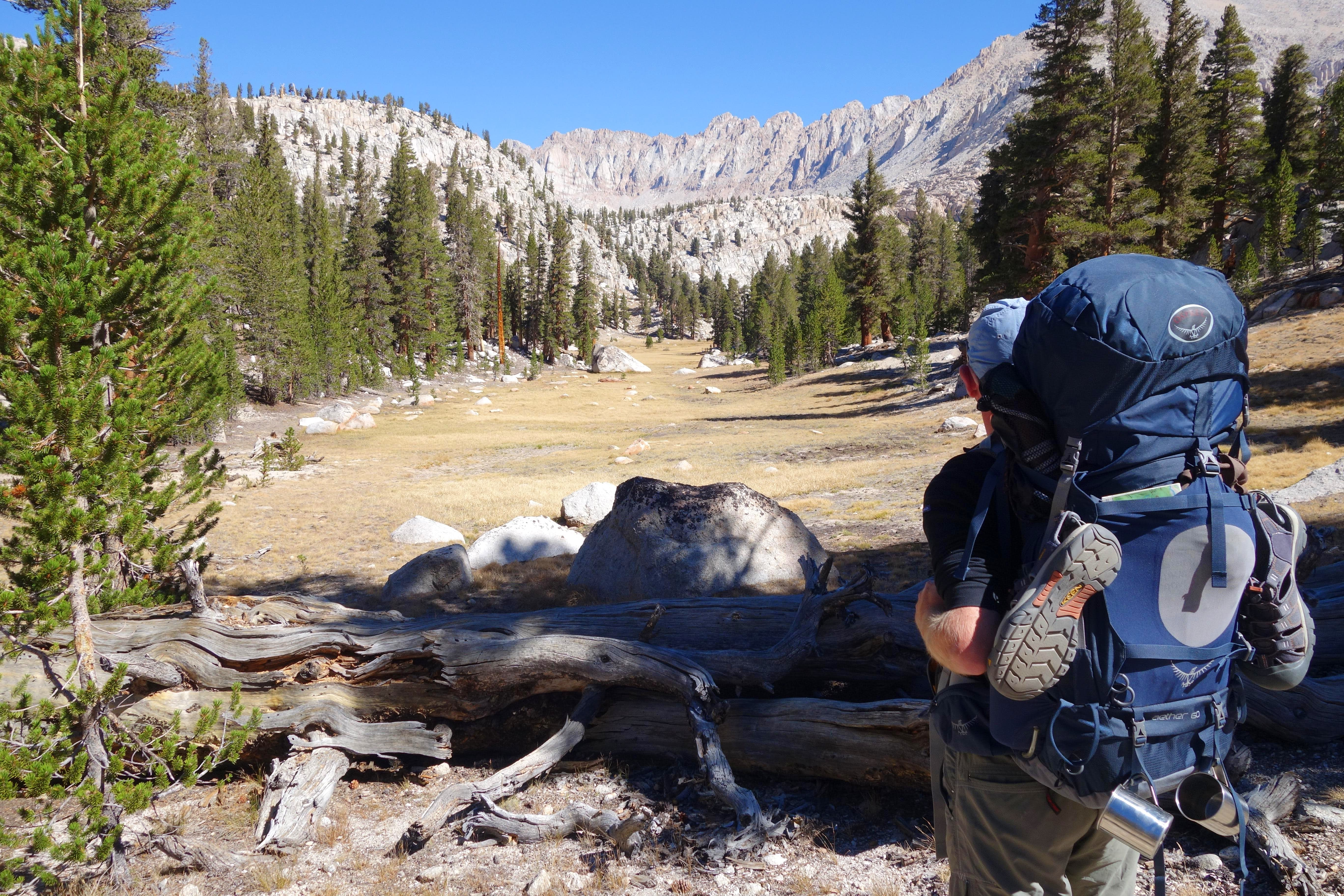 Old Army Pass - New Army Pass Loop, Sierras