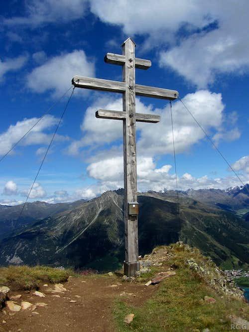Zehnerkopf 'summit' cross