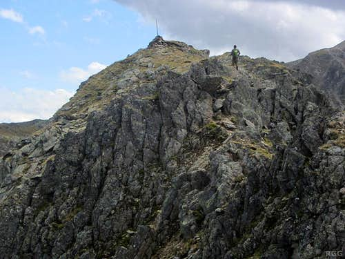 Zehner 'summit' view along the south ridge