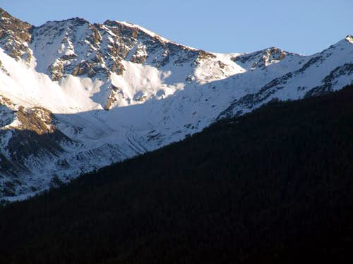 Tsa Sètze Vallon & Hill in East by the