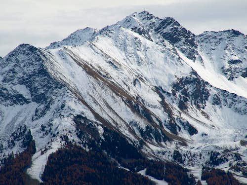 North Crest from Testa Nera to Mont Bellefaçe 2016