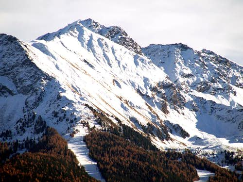 Mont Bellefaçe between