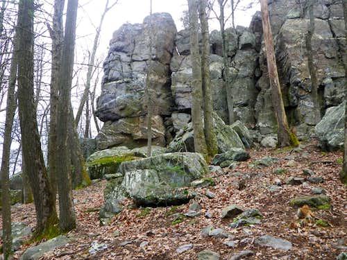 Buzzard Peak via Monument Rock