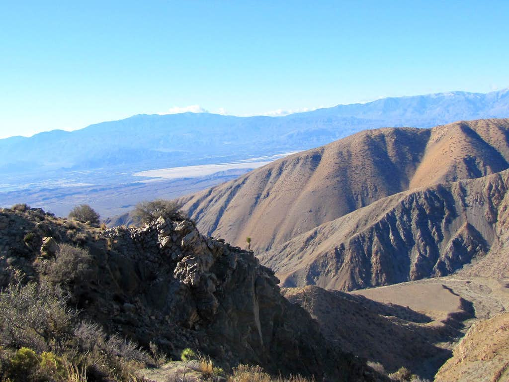 Coachella Valley from Fan Canyon Overlook