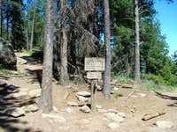 Black Elk Peak Trails Junction