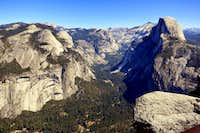 From Glacier Point.