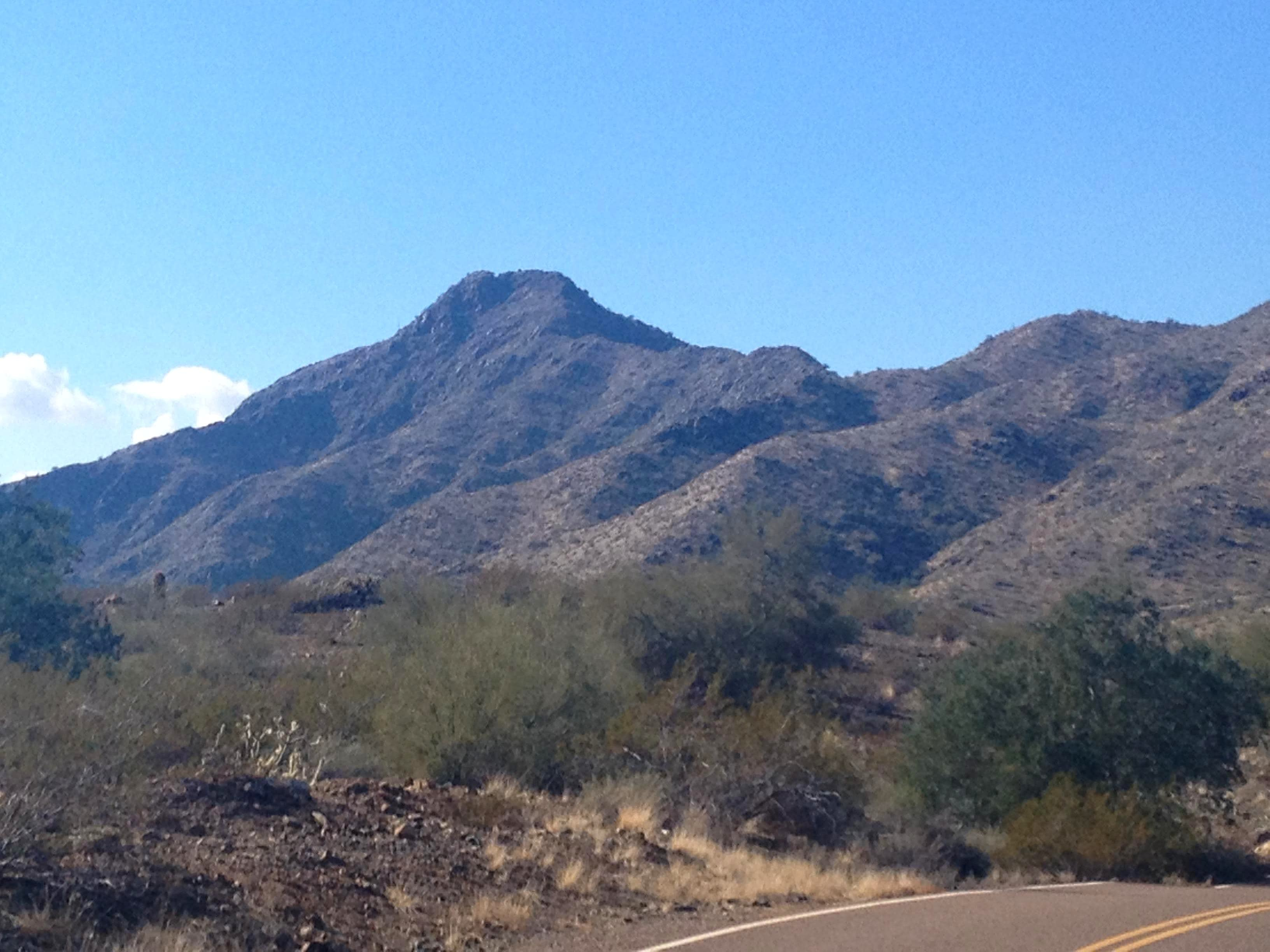 Maricopa Peak (South Mountain AZ)