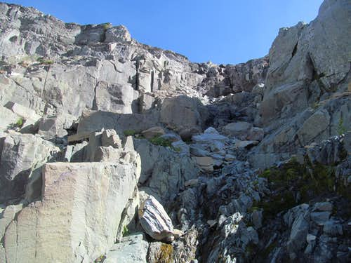 climbing the low cleft