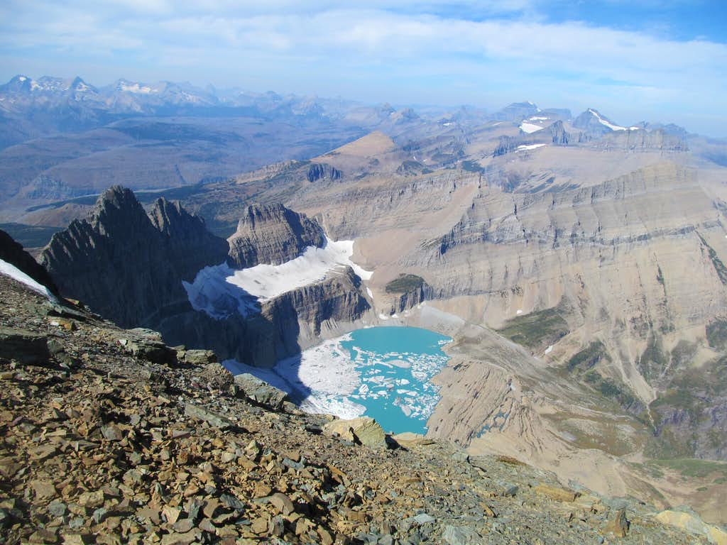 Iceberg Lake from Gould