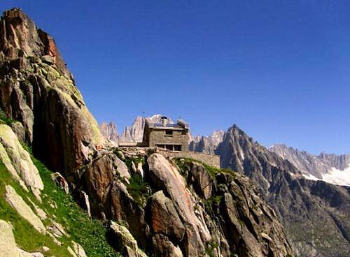 Refuge Envers des Aiguilles, Mont Blanc Group
