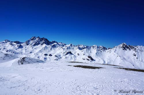 View from Piz val Gronda