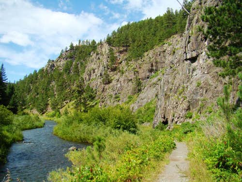 Rapid Creek Canyon