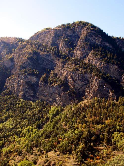 Archeo / d Mont-de-Poignon Eastern rocky Face 2015