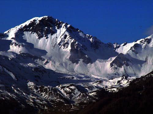 Blacks / b Monte Rosso of Vertosan in evening 2015
