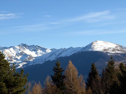 Col Tsa Sètze above Pila wide & semicircular Basin 2015