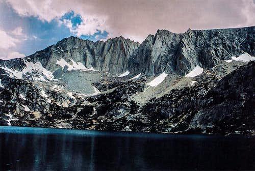 Ruby Peak from Ruby Lake