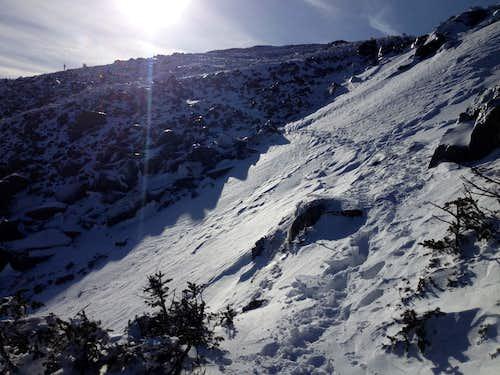 Ascending Mt. Jefferson