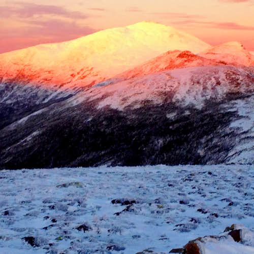Mt. Washington alpenglow