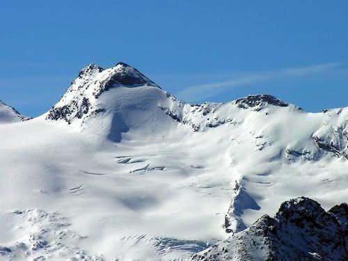 Il ghiacciaio di Chateau...