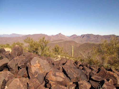 Guadu BM (Cipriano Hills - Organ Pipe Cactus National Monument)