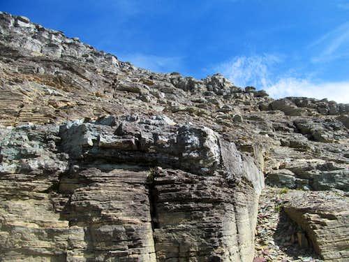 upper ledges