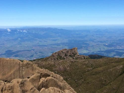 View of Prateleiras from Agulhas Negras summit